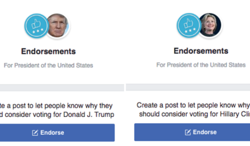 POTUS Endorsement Pages